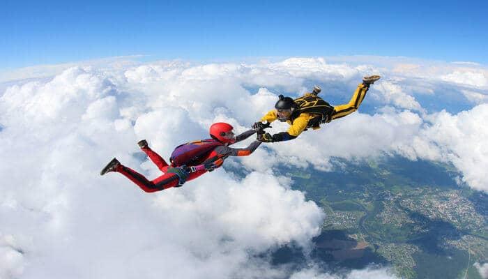 Skydiving in noosa