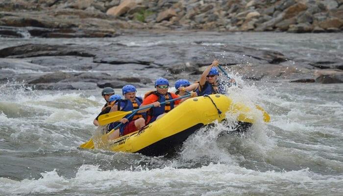 Rafting in Pahalgam