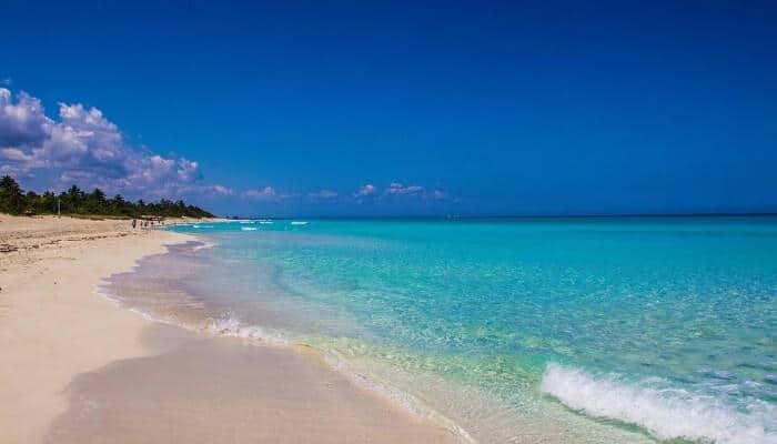 Verdero Beach in Cuba