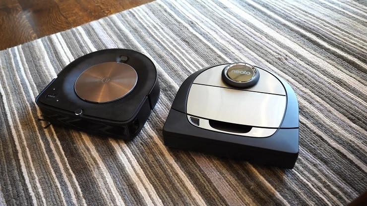iRobot Roomba S9 Plus against Neato Botvac