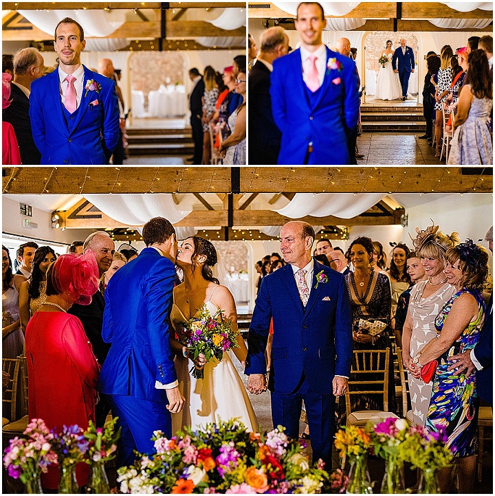 Rachel and Phil's Music Loving Full of Colour West Sussex Wedding by Photography By Soven