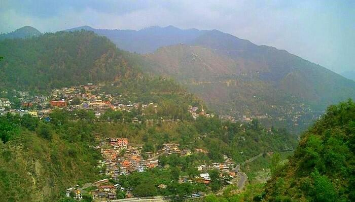 view of chamba from salooni
