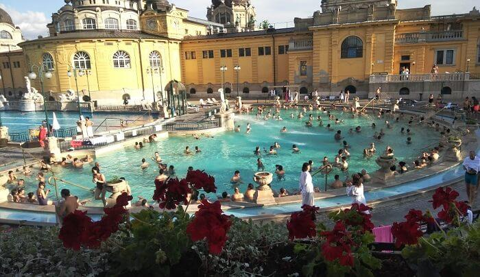 Pool in budapest