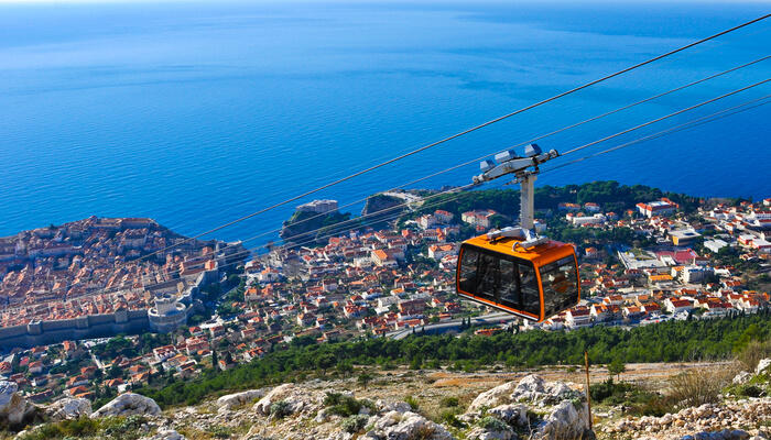 Go For A Ride In The Dubrovnik Cable Car