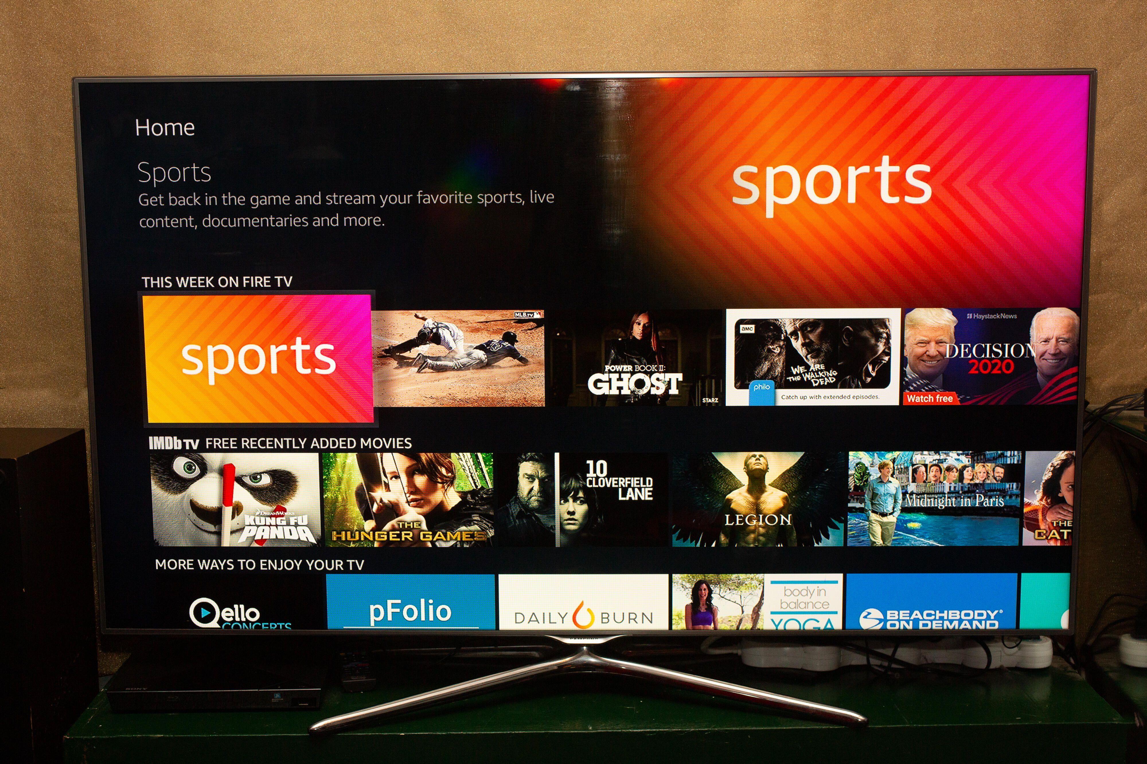 054-Amazon Fire Stick-TV & Fire Stick-Lite-Menu Screen-2020