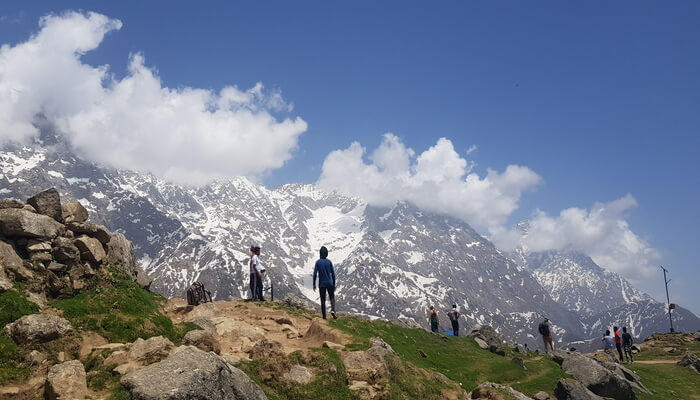 A popular holiday spot in Dharamshala