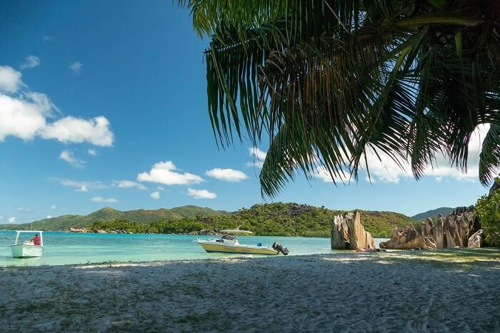 Famous beaches in Seychelles