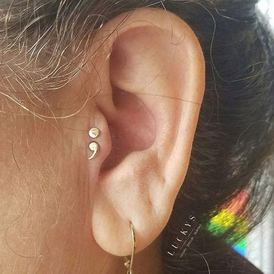 Tragus Piercing Pain