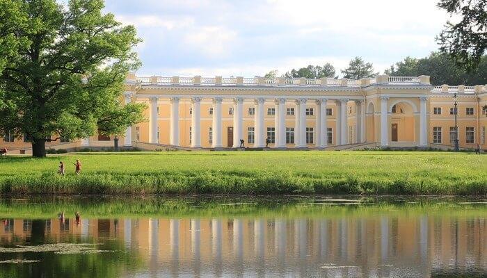Alexander Palace of St. Petersburg