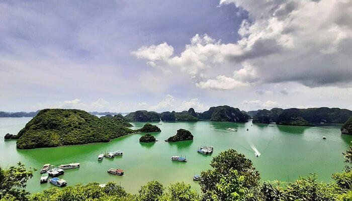 Shining Halong Bay in Vietnam