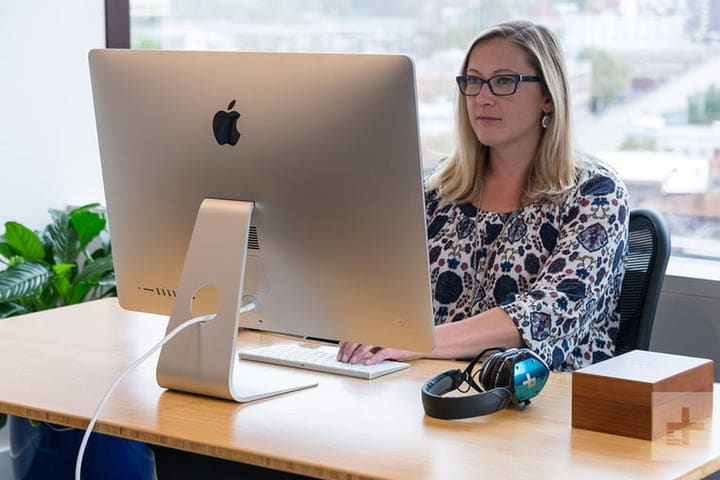 Apple iMac Performance Review Lifestyle Back with Retina 5K