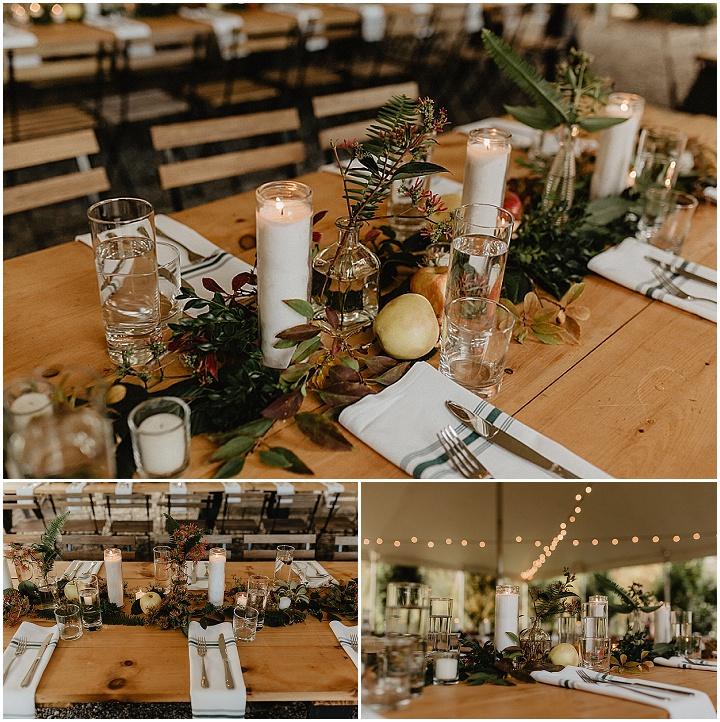 Tanya and Michael's Upstate New York Autumn Garden Wedding by Nicole Nero Studios
