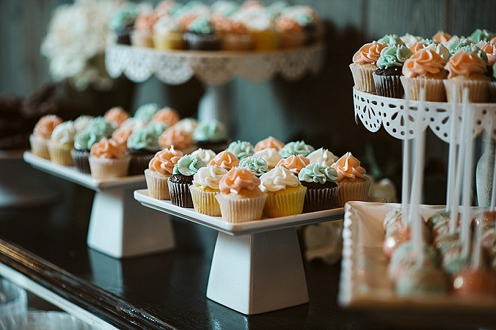 Mandy and Jeremiah's Rustic Elegant Michigan Barn Wedding by Jean Smith Photography