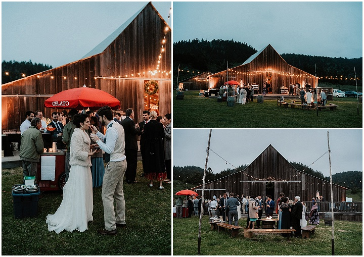 Michelle and Stewart's Romantic Weekend Barn Wedding in California by Sebastian Bikard Photography