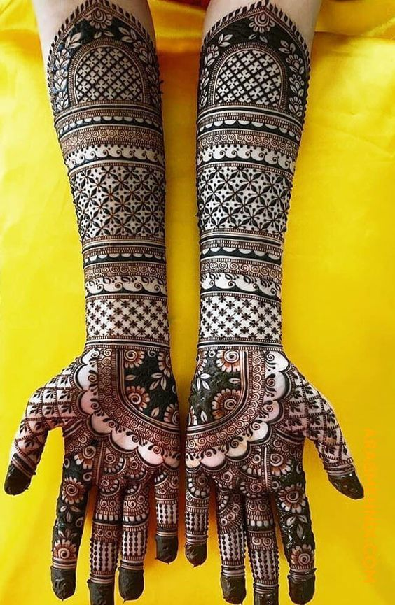 Bridal Mehendi Designs For 2020 Brides