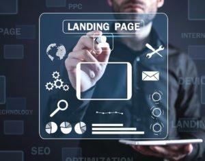Designing landing Page