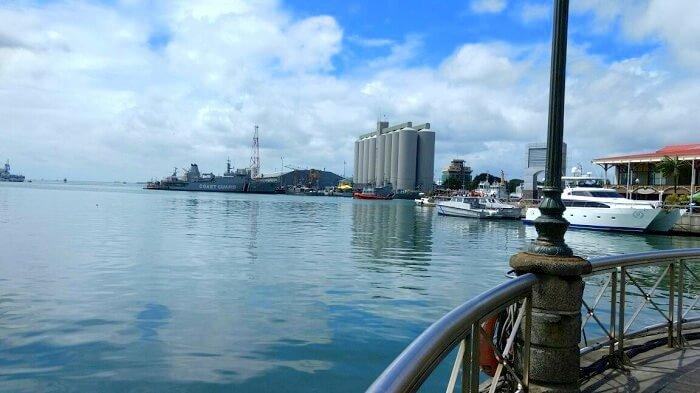 The brilliance of Port Louis