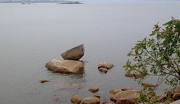 Osman Sagar Lake in Telangana