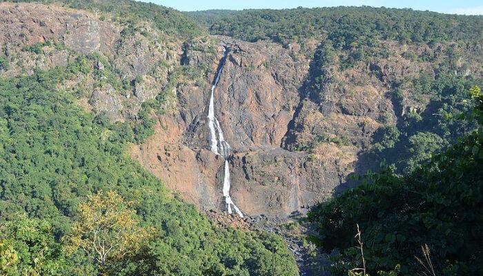 Barahipani Falls in Odisha
