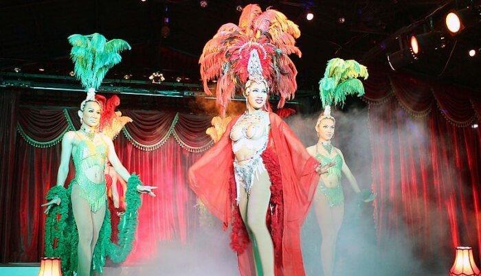 Cabaret performance in Koh Samui