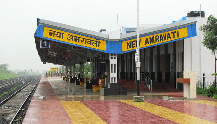 New Amravati Railway Station