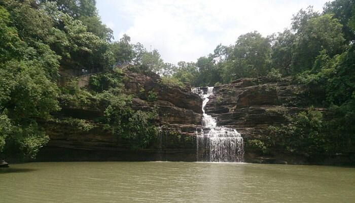 Pandav Falls in Panna