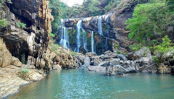 Yellapur waterfall