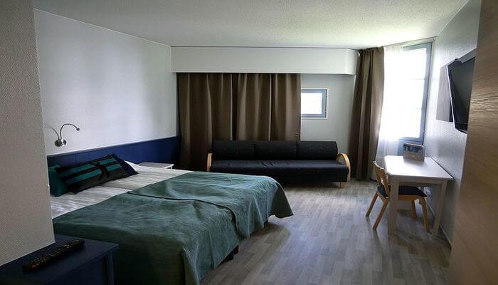 Hotel Rudra room