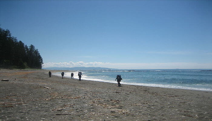 Hiking the West Coast Trail is one of the best things to do in British Columbia