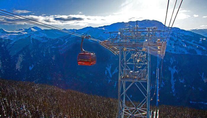 For instance the Peak 2 Peak Gondola