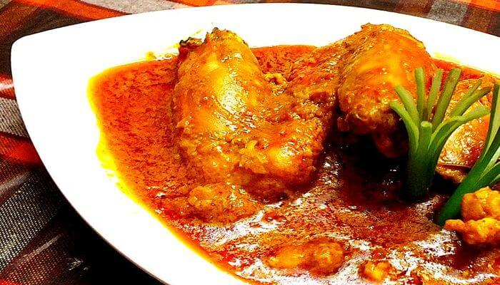 The most popular non vegetarian food