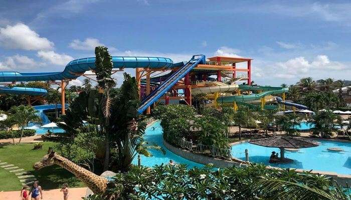 Amusement park in phuket-Splash Jungle Water Park
