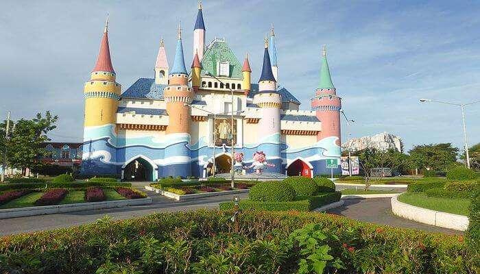 Amusement park inBangkok - iam park city