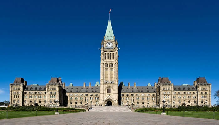 Best Places to visit in Ottawa - Parliament Hill
