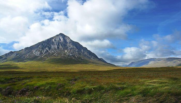 Mountains In Scotland- Buachile tribal peacock