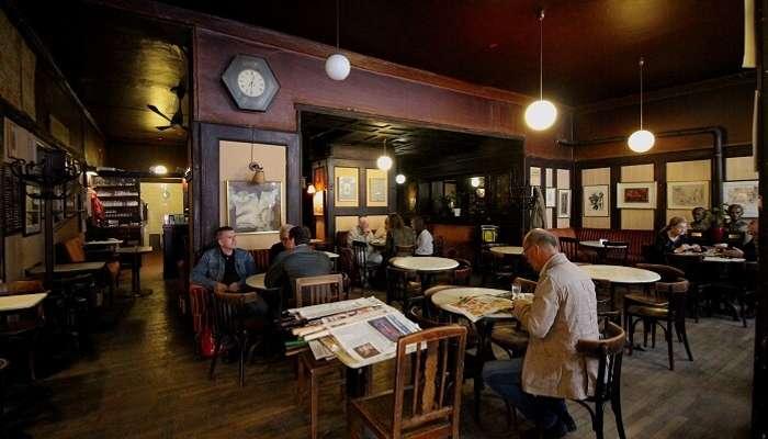 Cafe in Vienna