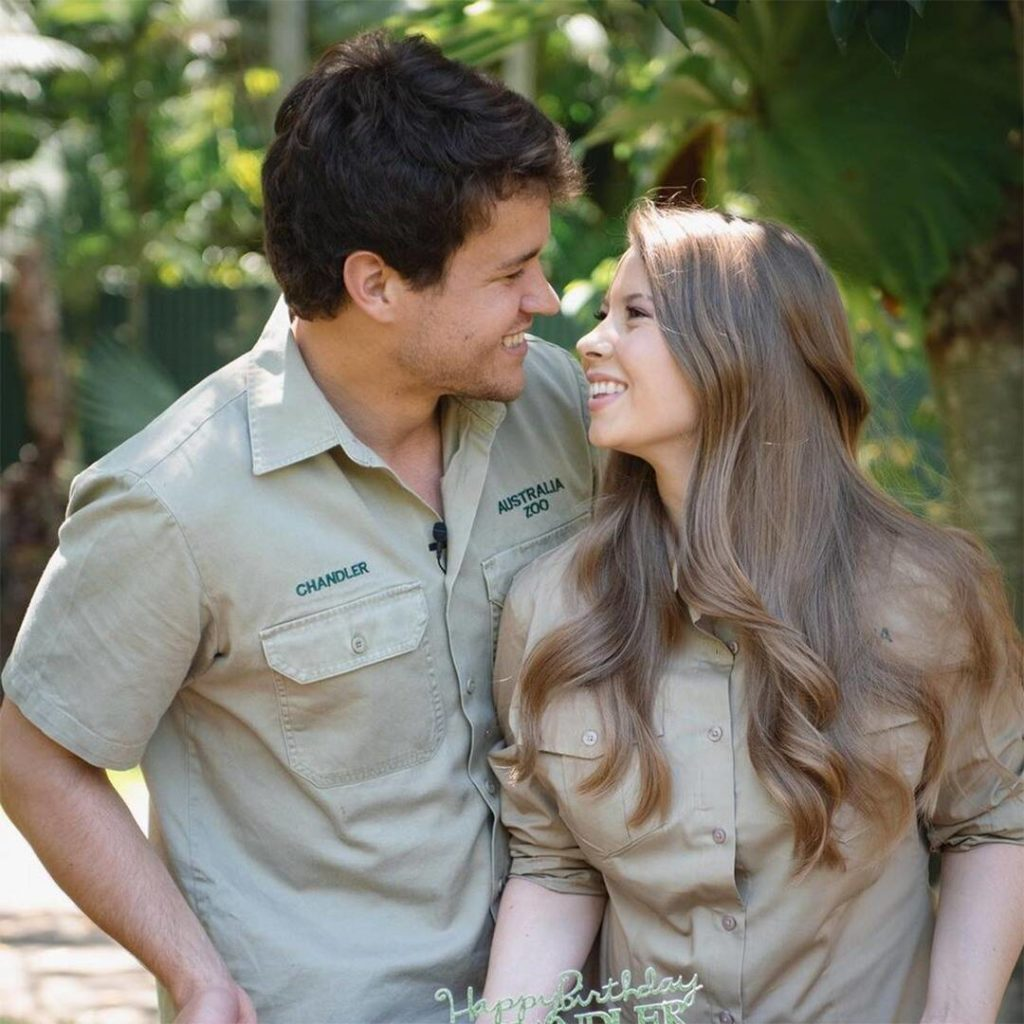 Pregnant Bindi Irwin's Husband Thanks Her & Baby for B-Day Surprise