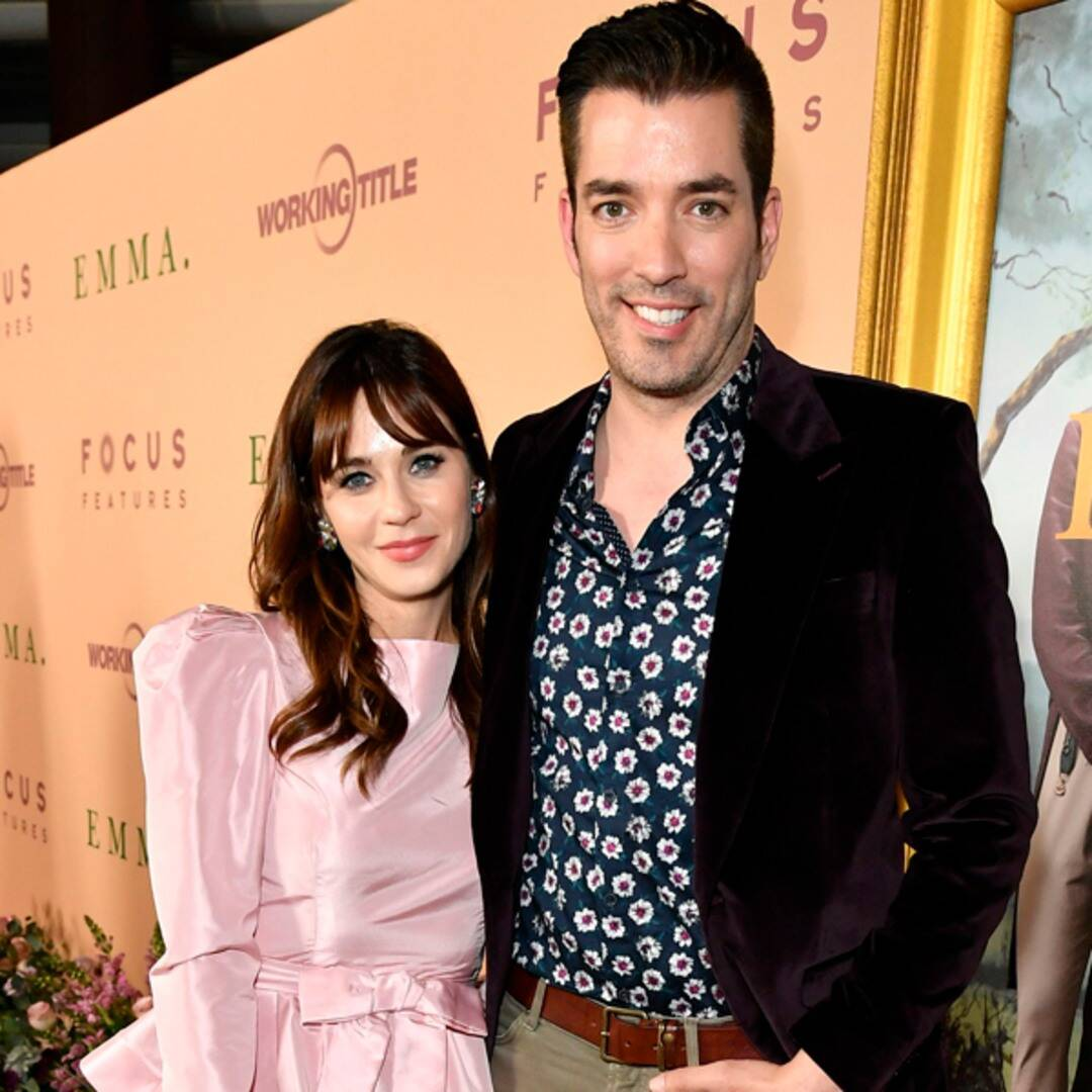 Jonathan Scott Responds Perfectly to Zooey Deschanel Engagement Rumors