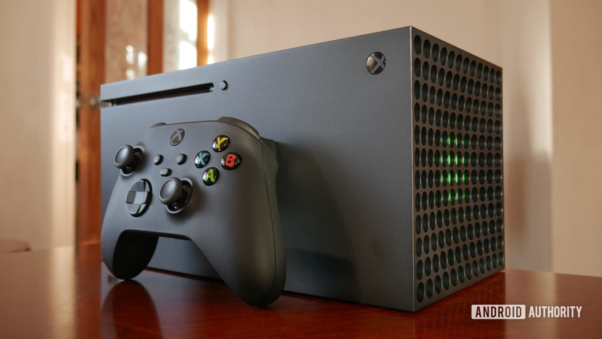 xbox series x review side
