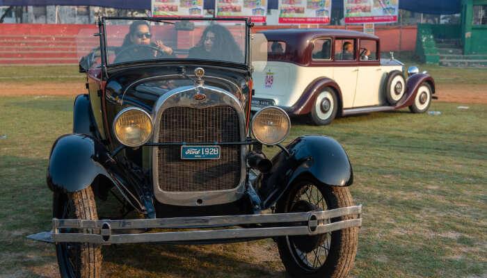 Vintage Car Rally: Go on a Ride