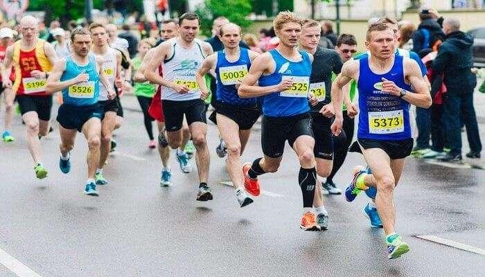 Marathon: Go for a run
