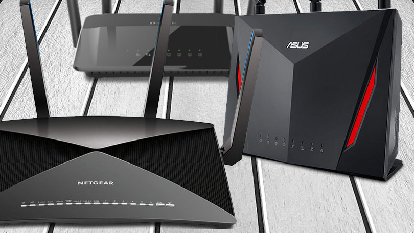 routers with attached antenna