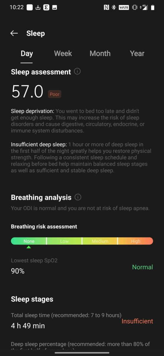 OnePlus Band review health app 08
