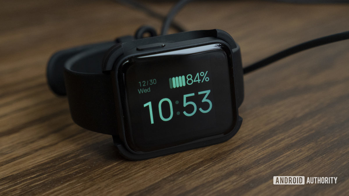 xiaomi mi watch lite review battery life charger