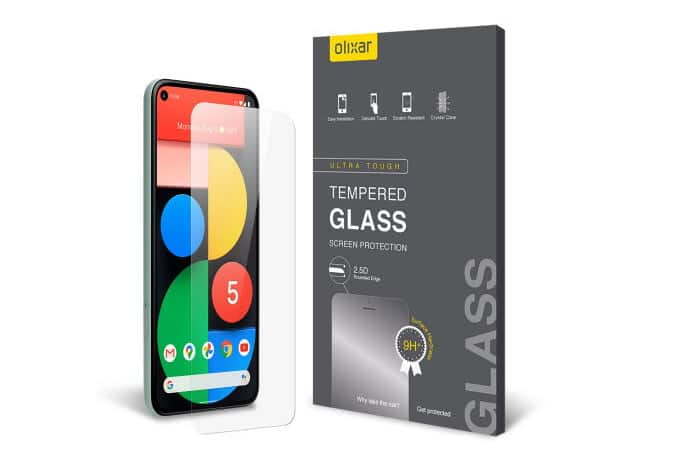 Olixar Tempered Glass Screen Protector for Google Pixel 5