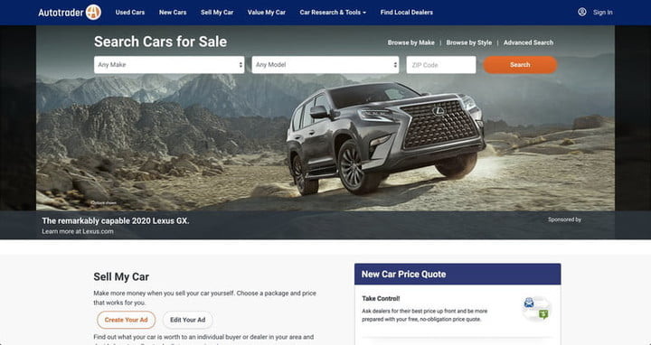 Best Used Car Websites