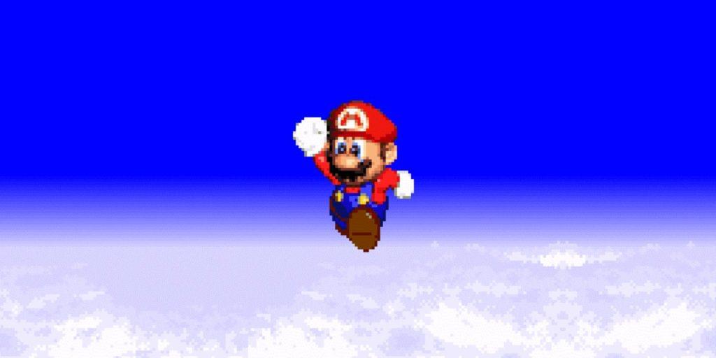 SNES Mario Game