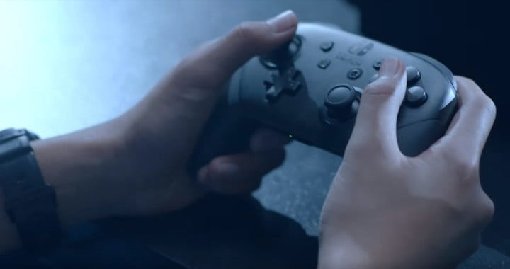 Amazon earth day used Nintendo Switch Pro Controller