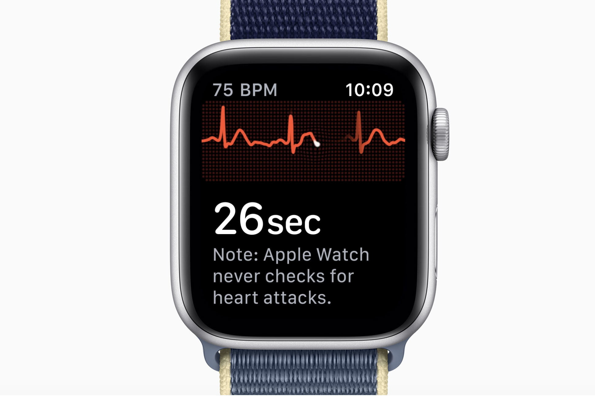 Apple Watch Series 5 EKG