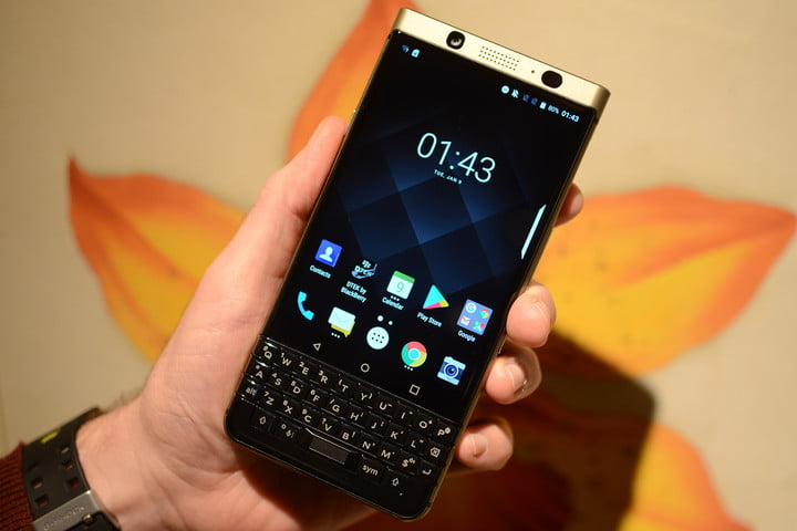 Blackberry KeyOne avec clavier